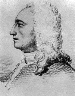 Pencil portrait of a man with long curly hair and an aquiline nose.